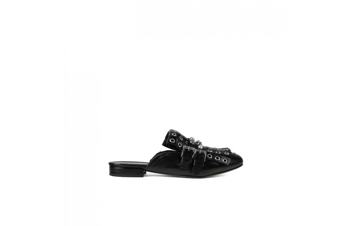 Tachs leather sandal