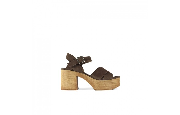 Wood Austin Sandal