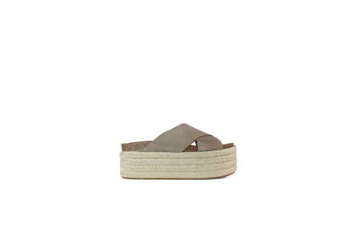 Monk Platform Esparto Sandal