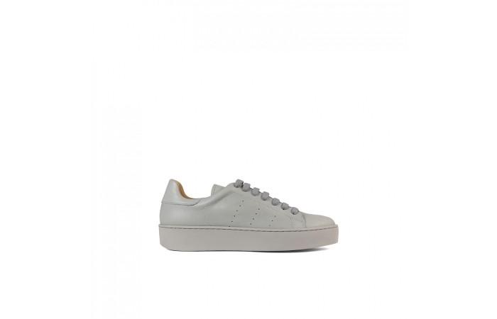 Sneaker Piel Gris