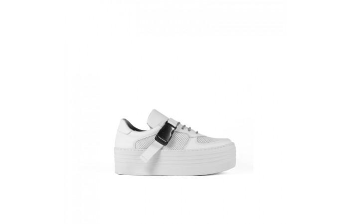 White Sneaker Platform XXL
