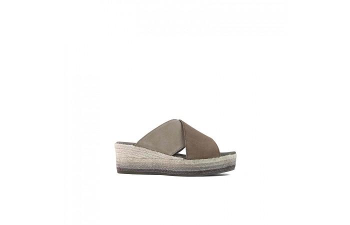 Espart Platform Sandal