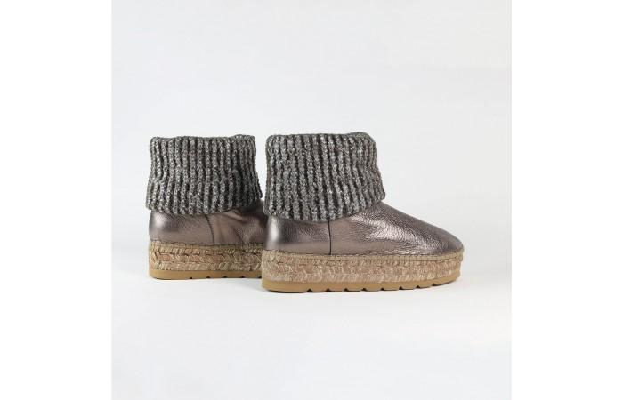 Bronze Oslo esparto Boots