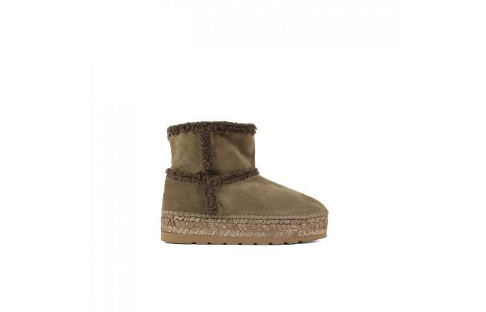 Brown esparto Oslo boots