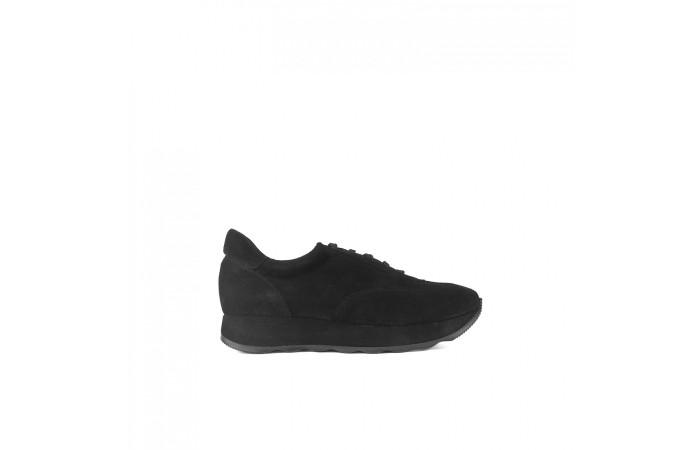 Black Gina Sneaker