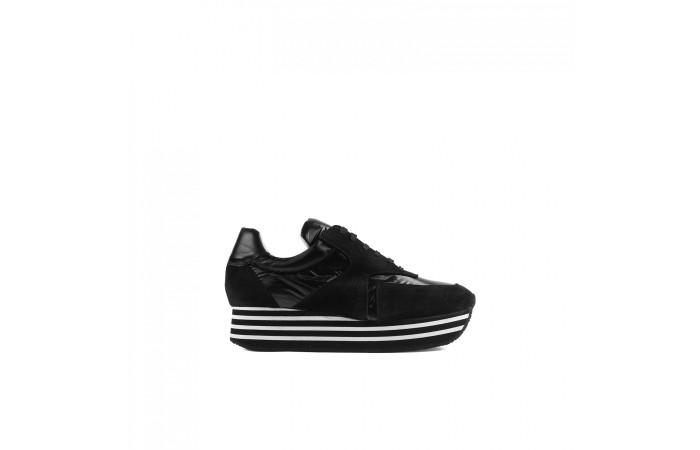 Sneaker Berlín teixit Negre