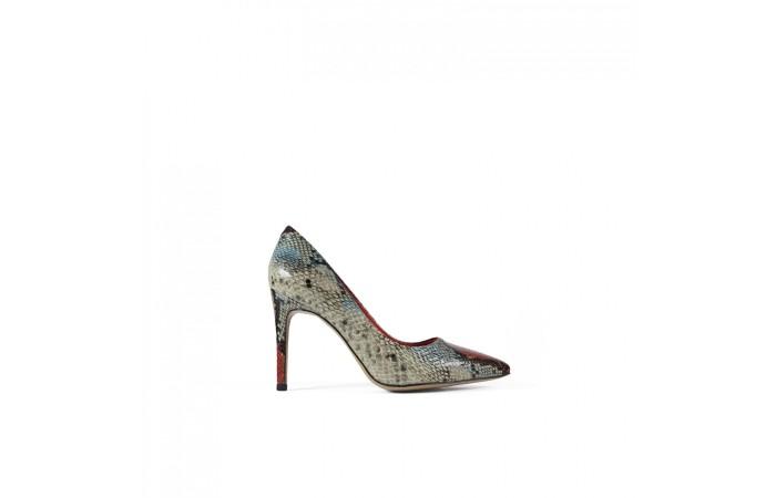 Animal Print high heeled shoe
