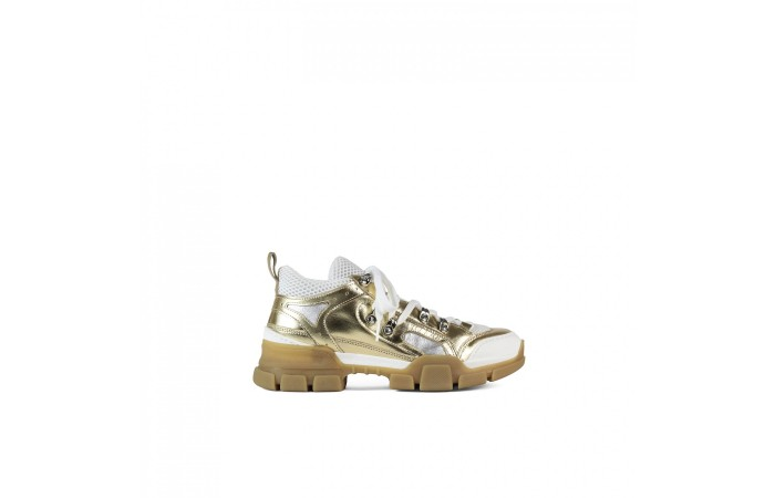 Bright Gold Sneaker Gianna