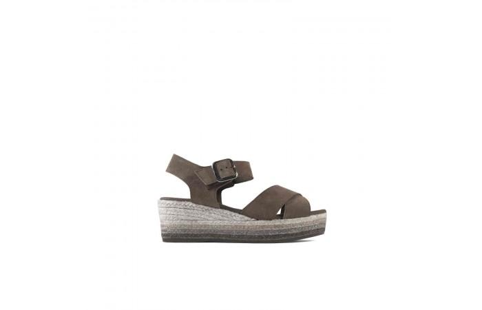 Esparto Platform Sandal