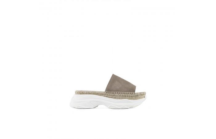 Taupe Yoko Esparto Sandal