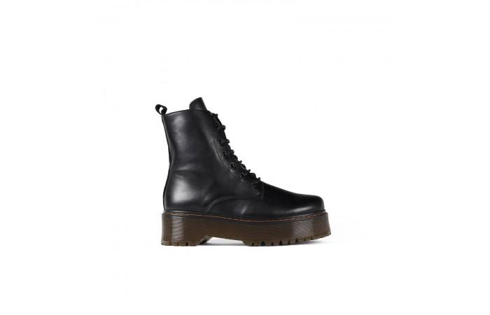Platform Military Boot