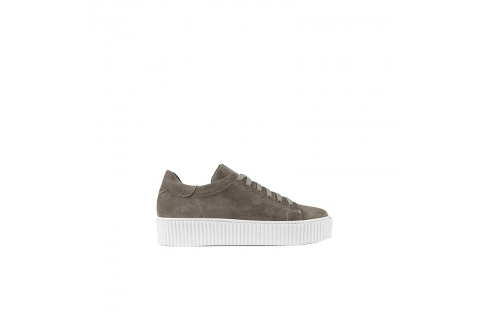 Taupe ray sneaker