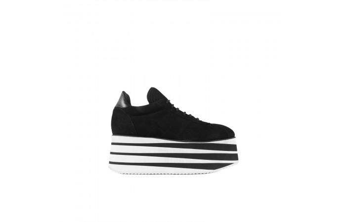 Cora suede platform sneaker