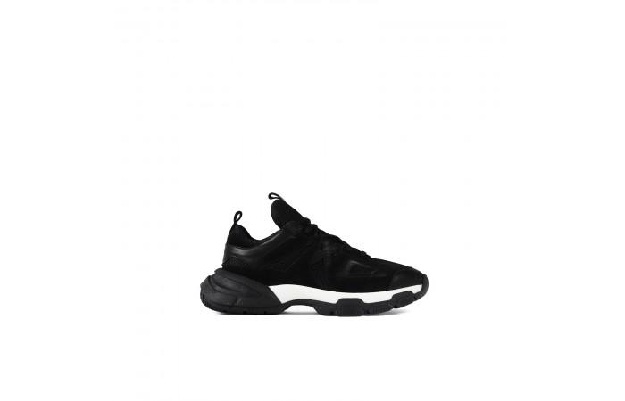 Sneaker Dina Animal Negro