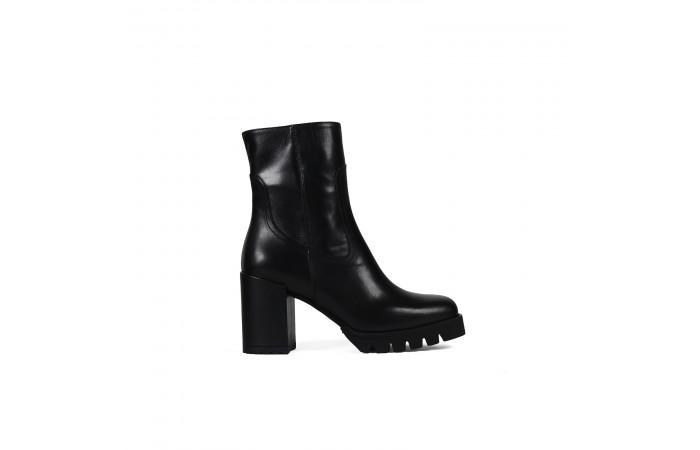 Black suede Kala boots