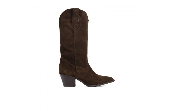 Scarlett Brown cowboy boots