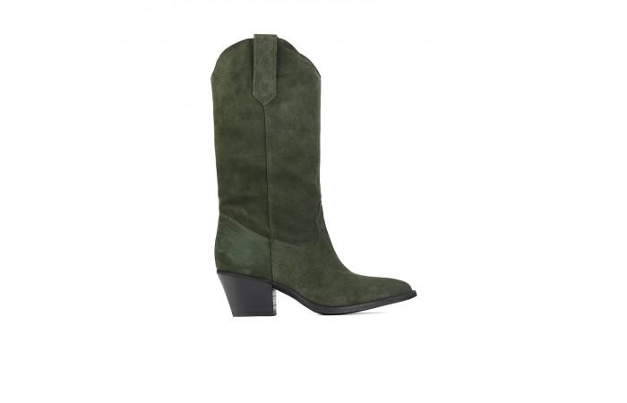 Scarlett Green cowboy boots