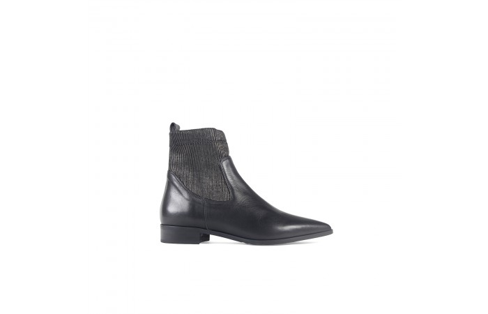 Black Elastic Boot
