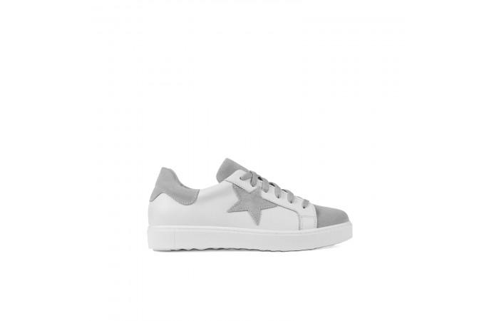 Gray star sneaker