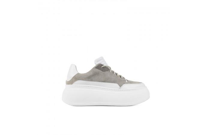 Gray platform XL Sneaker