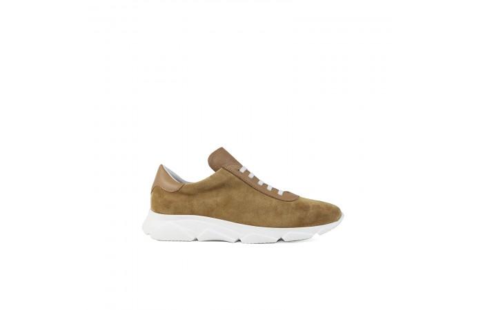 Camel platform Kenya sneaker