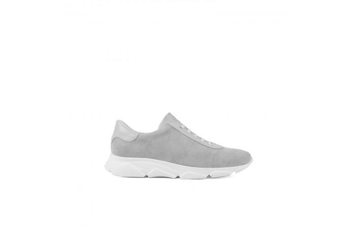 Gray platform Kenya sneaker