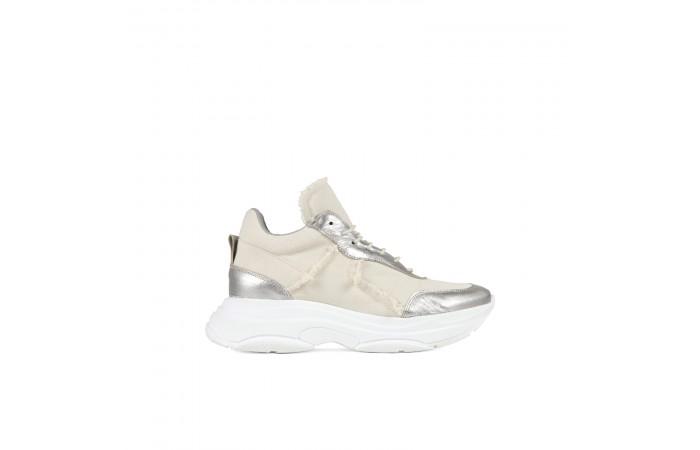 Sneaker plataforma yoko tela