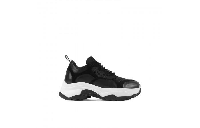 Black yoko redesigned sneaker