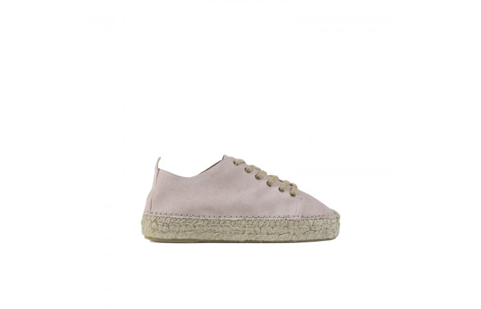 Pink suede paola sneaker