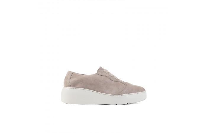 Pink platform Amelie sneaker