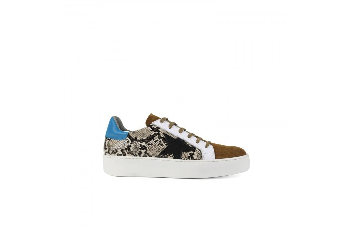Animal Print Star Sneaker