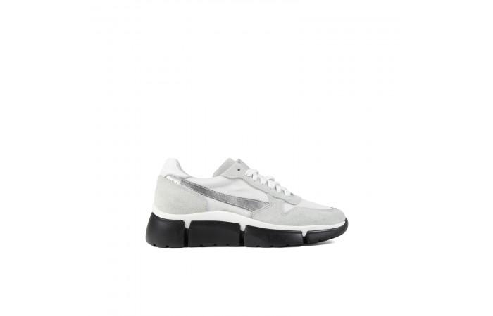 White plataforma Jane Sneaker