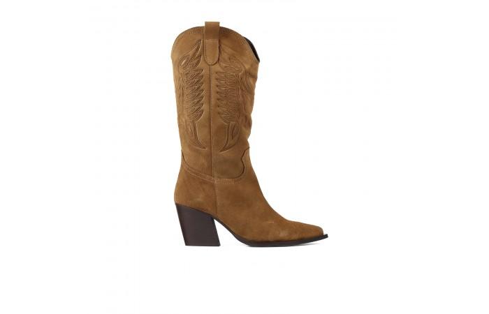 Brown Cowboy Valeria Boots