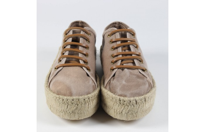Sneaker Lucca Brown Canvas...