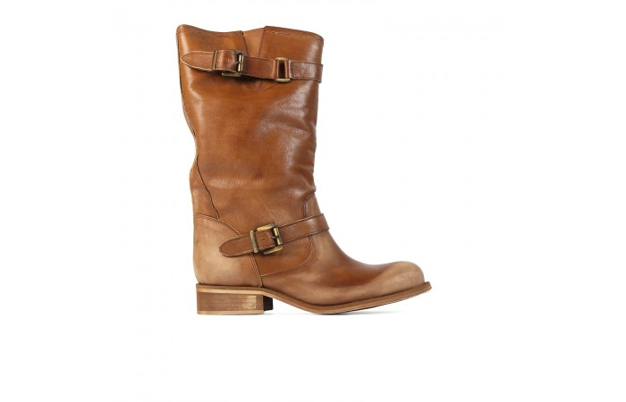 Leather Max Waist boots