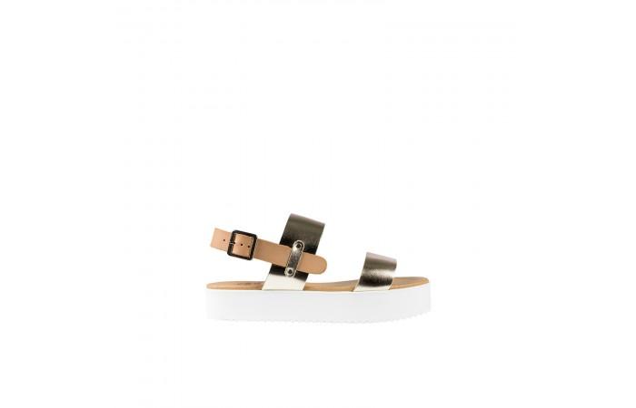 Golden Mahón Sandal