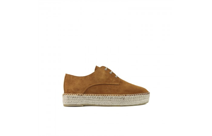 Camel Plataform Toscana shoes