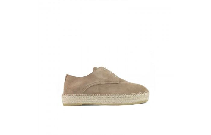 Beige Platform Toscana shoes