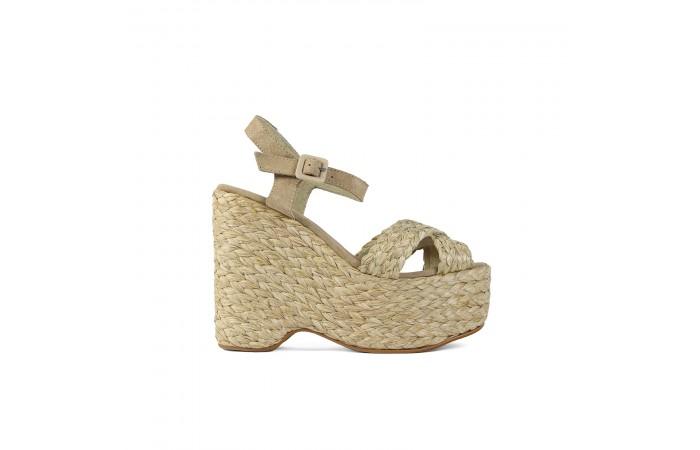 Yute Braided Platform sandals