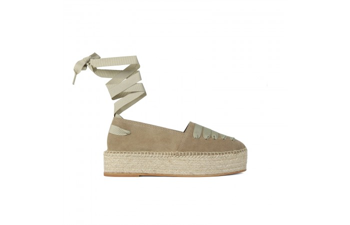 Brown Esparto Platform Gina