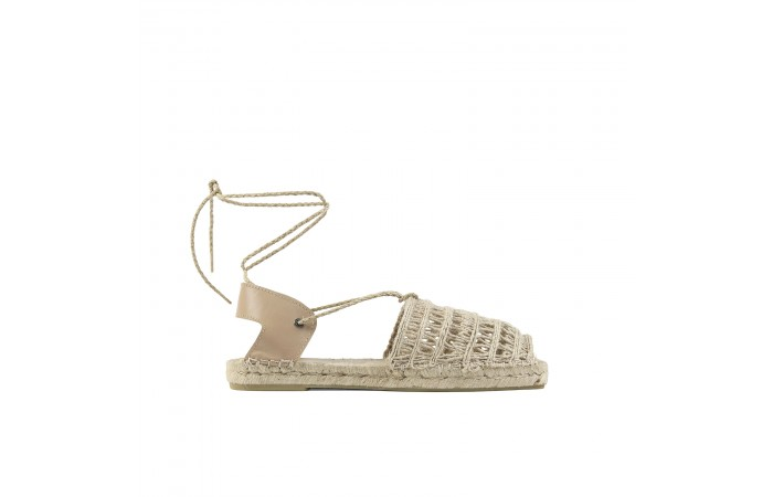 Greek esparto sandals