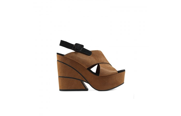XL Geometric Platform Sandal
