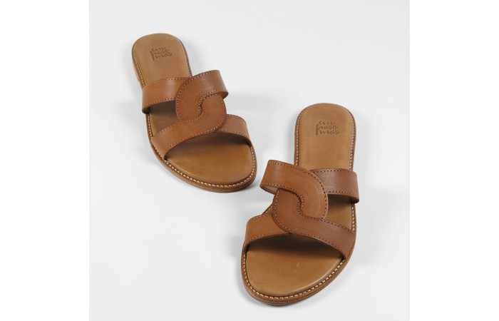 Greek flat sandal