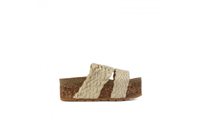 Corch Platform Minerva Sandals