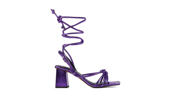 Purple Sophie sandals