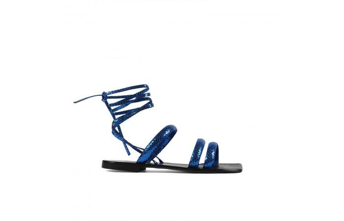 Klein coco straps flat sandals