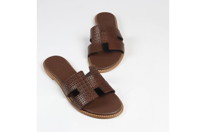 Texture greek sandal