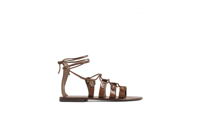 Leather ropes Sandals