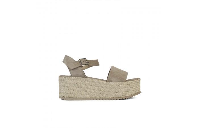 Esparto Platform Roma Sandals