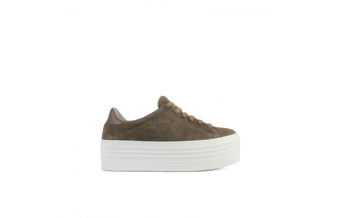 Brown XXL Platform Sneaker